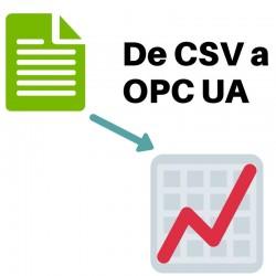De CSV a OPC UA